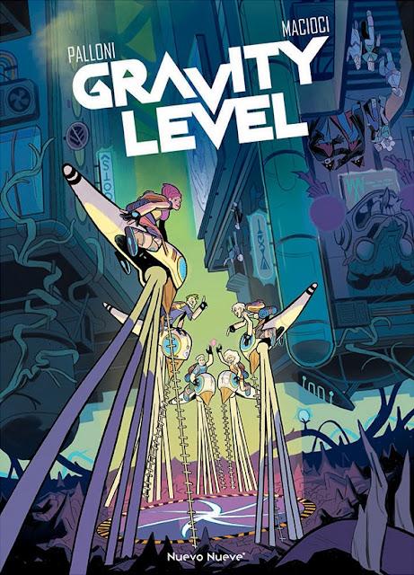 Review del cómic Gravity Level de Lorenzo Palloni y Vittoria Macioci - Nuevo Nueve