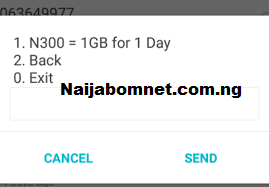 Glo Special data plan, 1gb for 300