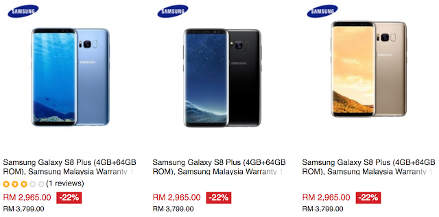 Samsung Galaxy S8 Plus Malaysia Price Official Warranty