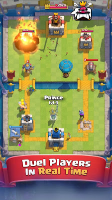 Download Clash Royale MOD APK 1.8.6 Unlimited Coins dan Gems Update Terbaru