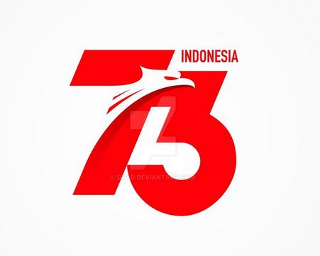 logo hut ri ke 73 hari kemerdekaan ri ke 73 tahun 2018