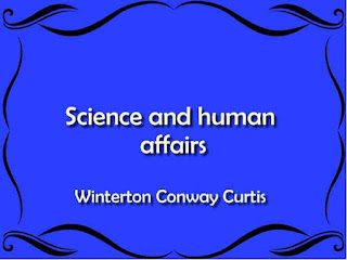 Science and human affairs