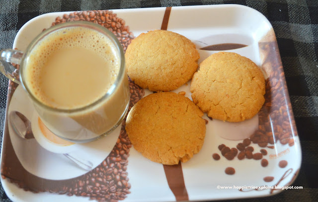 Whole Wheat Cashew  Cookies