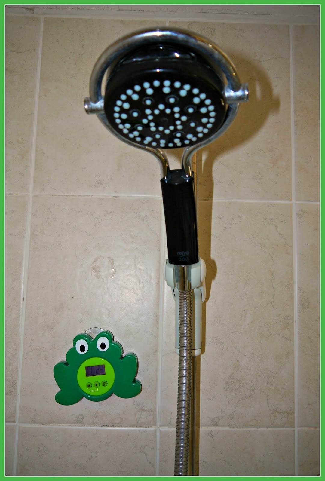 Shower Water Timer : Inside the wendy house cheap and easy tips for being eco