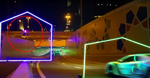 Así fue el Primer Grand Prix de Drones realizado en Dubai