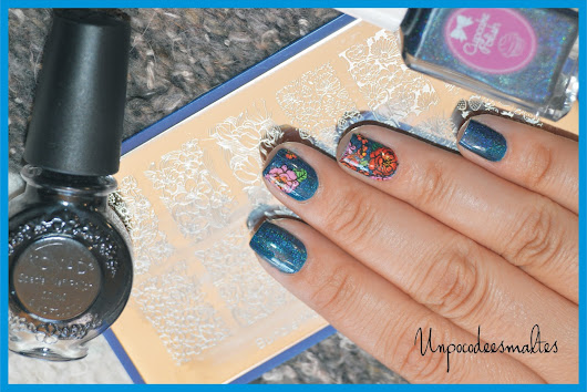 Bat-chelor Pad - Cupcake polish y BM-XL217