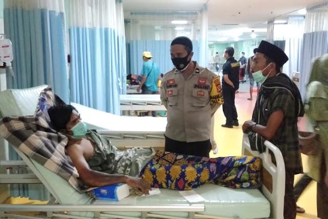 Dua warga Loteng terbakar akibat ledakan gas senapan angin