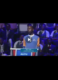A Genius? Meet Aliyu Bello Ali A Student Of Igra Science Academy Who Stir Up The Crowd At The Cowbellpedia
