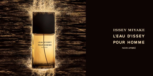 ccbeb16792 Perfumistico: Issey Miyake L'Eau d'Issey pour Homme Noir Ambre