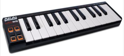 MIDI Keyboard Controller for Laptops (Mac & PC) Portable USB