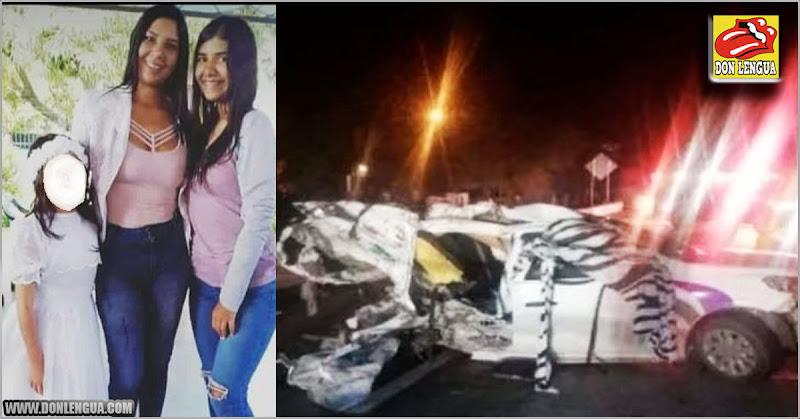 5 miembros de una familia venezolana murieron en terrible accidente en México