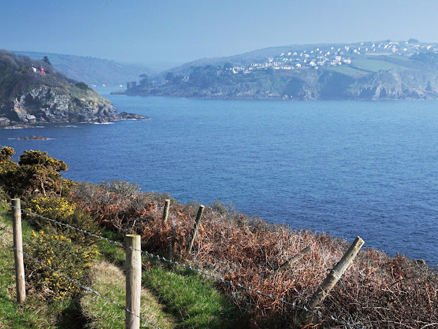 Walking the coastal path, Cornwall, from Menabilly
