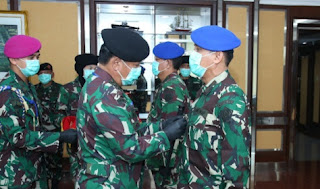 Panglima TNI Pimpin Sertijab Komandan Pusat Polisi Militer