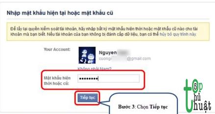 Mẹo lấy lại tài khoản Facebook bị hack