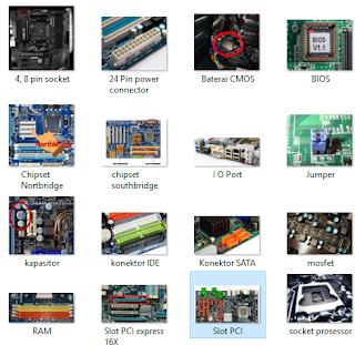 20 Bagian Bagian Motherboard Komputer Dan Fungsinya Lengkap Dengan Gambar