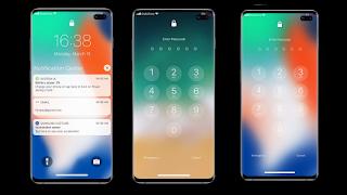 Lock screen iOS 13