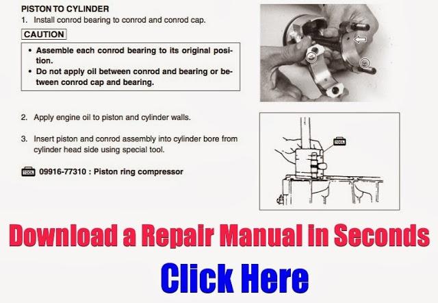 DOWNLOAD ARCTIC CAT ATV REPAIR MANUALS