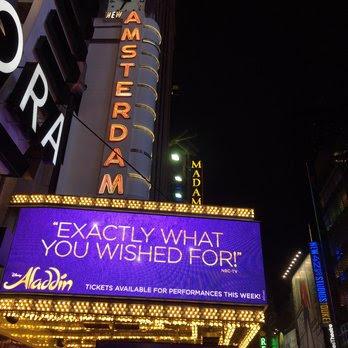 Aladdin the musical Broadway