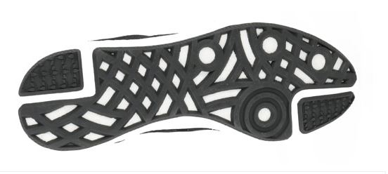 dfdd72dd9 Its rubber outsole and tread pattern are also carried over from Busenitz s  skate-specific pro model.