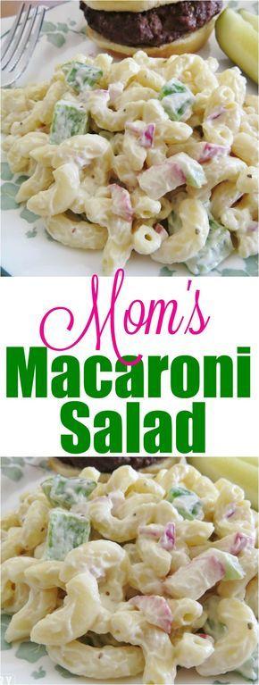The best macaroni salad (mom's secret