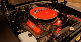1970 Dodge Charger RT Six Pack Engine