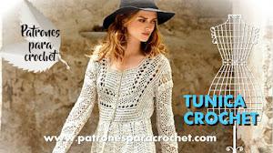 Túnica Bohemia Crochet / Patrones
