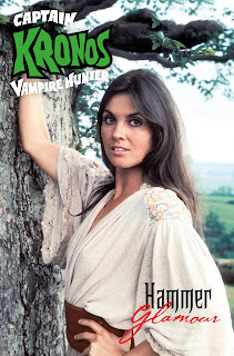 Cover B of Captain Kronos Vampire Hunter #2 from Titan Comics featuring Caroline Munro