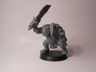 Shadow War: Armageddon ork yoof with choppas