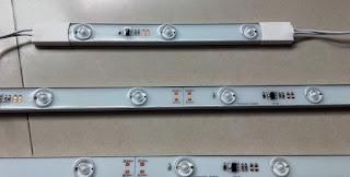 Cara memperbaiki lampu LED TV