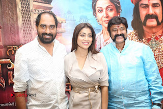 Shriya Saran Nandamuri Balakrishna at Gautamiputra Satakarni Team Press Meet Stills  0211.JPG