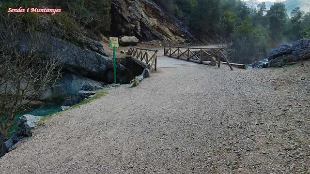 Otro puente, río Borosa, Pontones, Sierra de Cazorla, Jaén, Andalucía