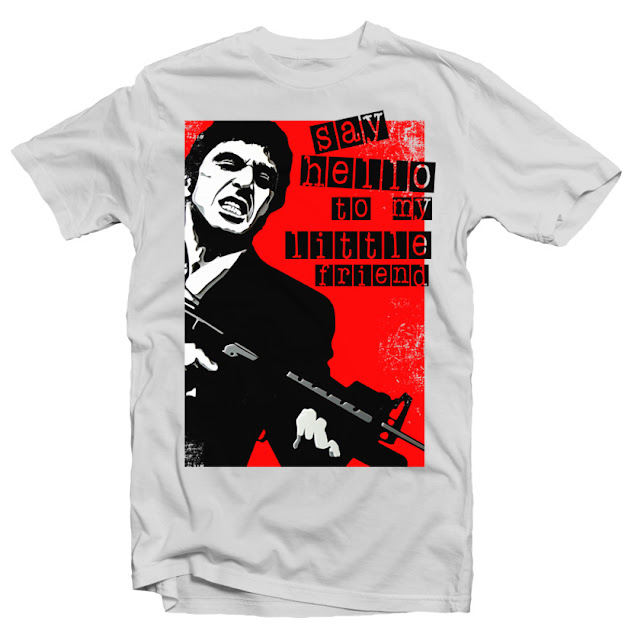scarface tshirt design