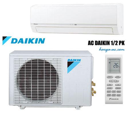 Daftar Harga AC Daikin 1 2 PK