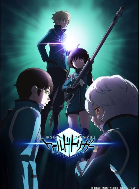 La tercera temporada de World Trigger muestra nueva imagen de los Tamakoma Second.