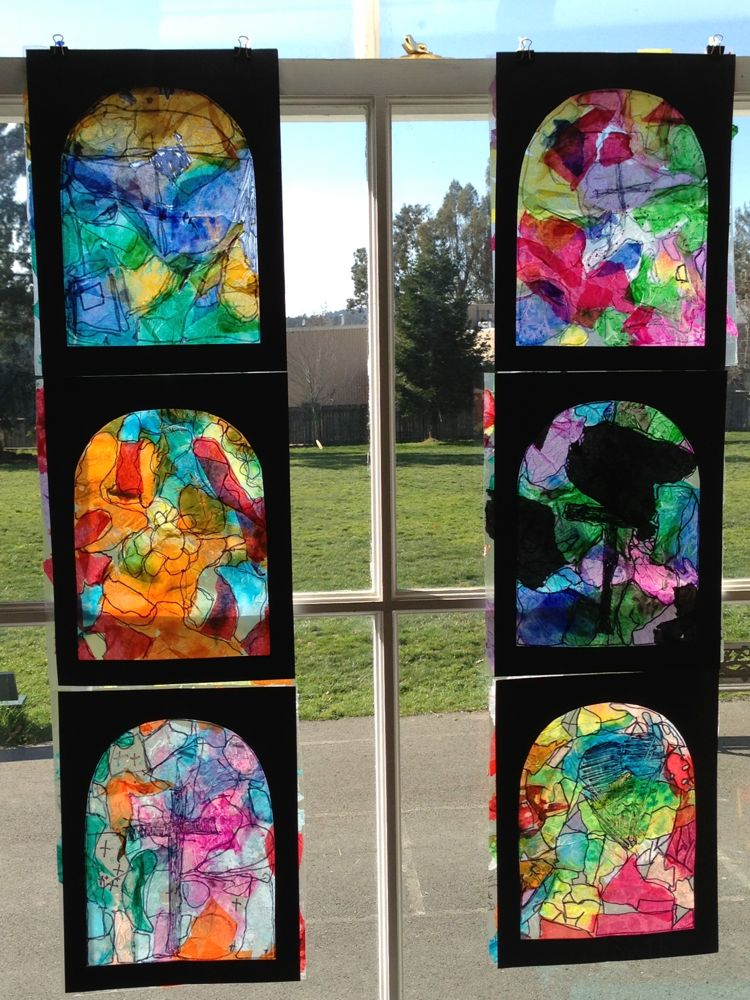 The Accidental Art Teacher Stained Glass Europe Study