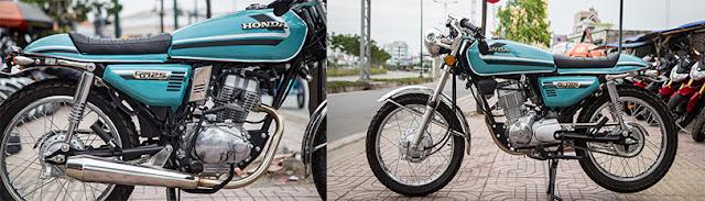 Honda CG125 độ Cafe Racer