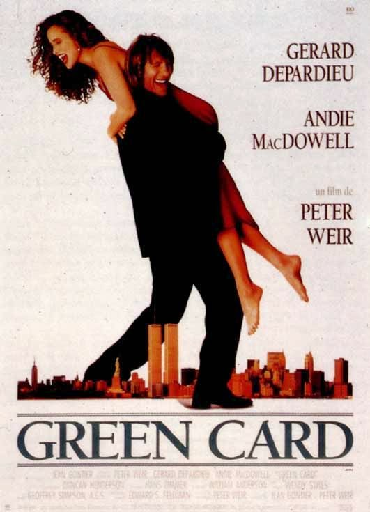 Green Card (1990) ταινιες online seires oipeirates greek subs