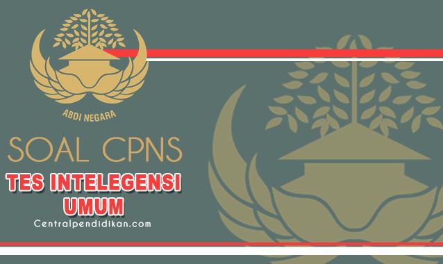 Soal CPNS 2021 : Tes Intelegensi Umum dan Pembahasan Lengkap