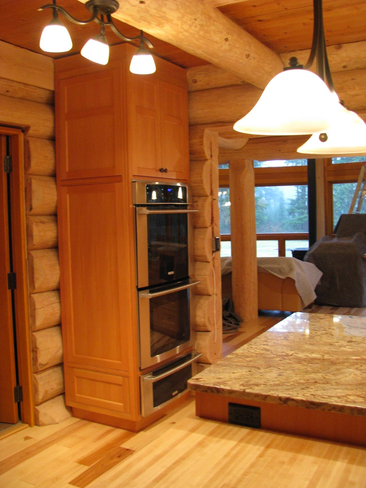 Custom Made Kitchen Islands Simply Beautiful Kitchens - The Blog: Custom Log Home