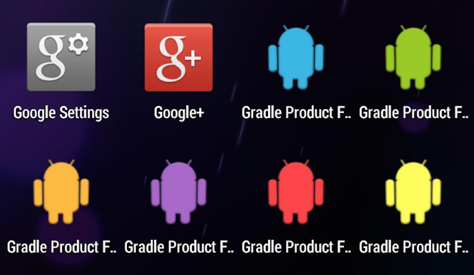 PTR Android/Programming Blog: Build Variations using Gradle