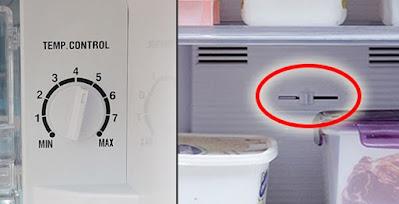 pengatur suhu tidak tepat