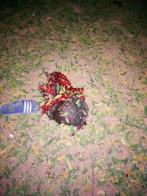 3 persons killed as suicide bomber attacks mosque in Borno