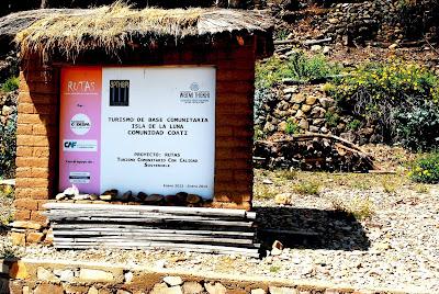 Isla de la Luna, Isla del Sol, Lago Titicaca Bolivia, Lado boliviano Lago Titicaca