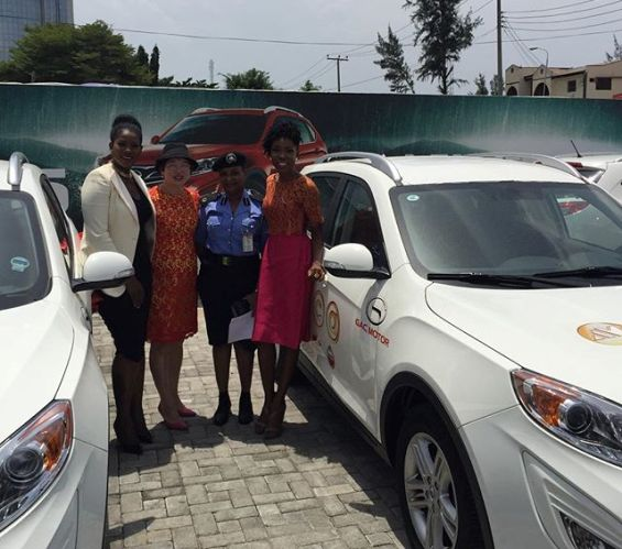 PHOTO AS Stephanie Linus wins car at AMVCA for movie of the year