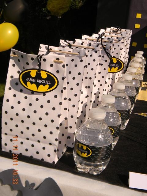 Most Pinterest Pins Batman Gift Party