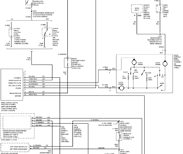 1997 Ford Pickup F350 System Wiring Diagram | Service