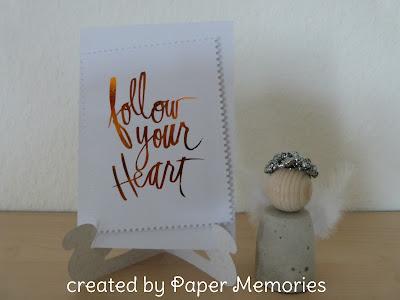 follow your heart Minc Folie Heidi Swapp