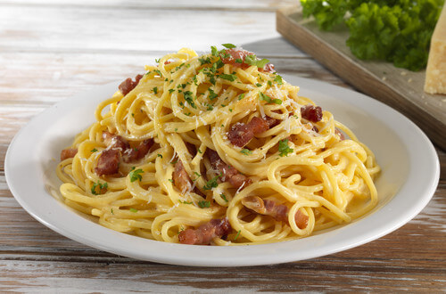 Fettucini Carbonara Recipes