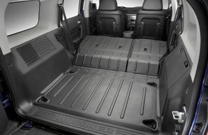 2016 Hummer H3 Interior