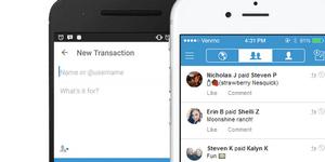 Venmo digital payment app interface